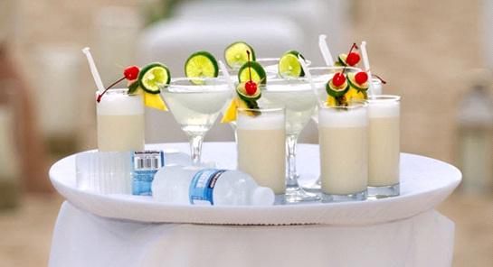 sử dụng đồ uống trong tiệc cưới 2