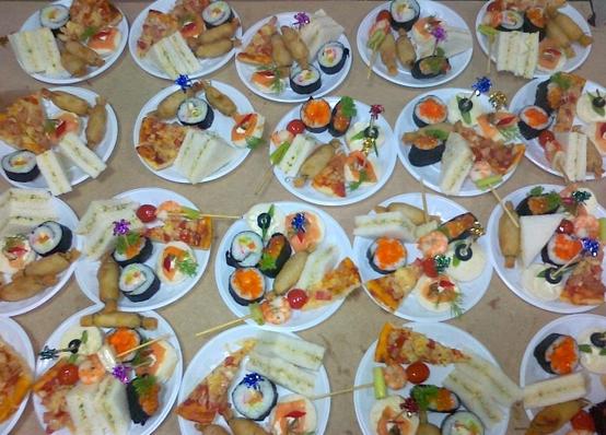 Tiệc cưới Finger Food 2