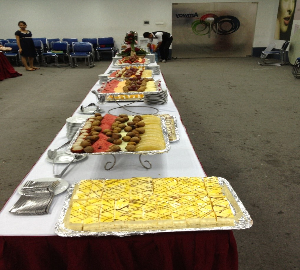 Setup tiệc Buffet 2