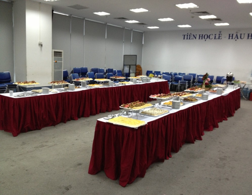 Setup tiệc Buffet 4