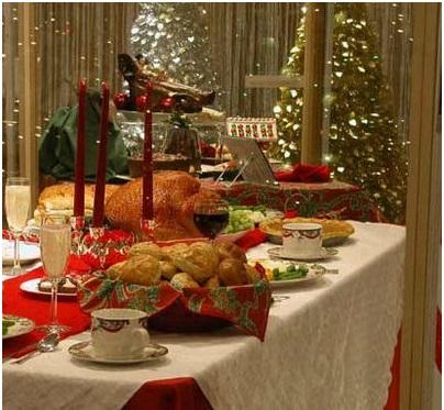 Chuẩn bị tiệc chào đón ngày Noel