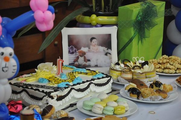 tiệc sinh nhật cho bé yêu