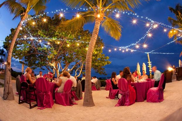tiệc cưới cho đôi uyên ương