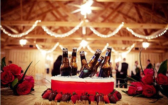 sử dụng đồ uống trong tiệc cưới 1