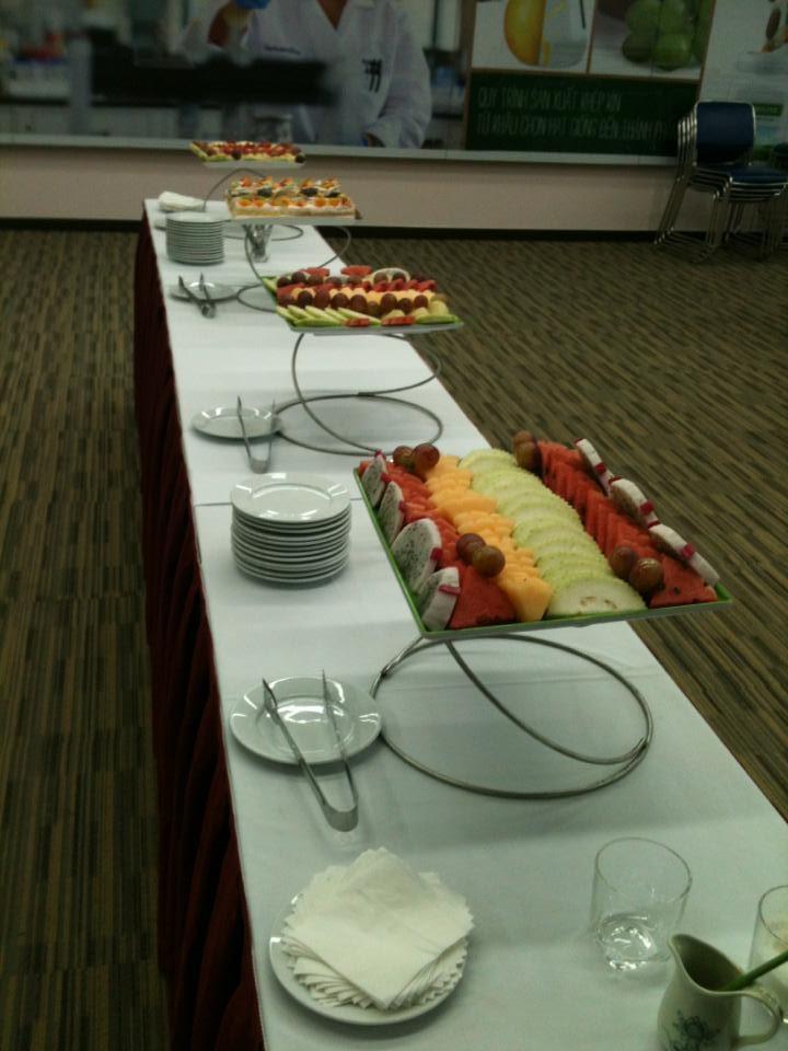 Setup tiệc Buffet 1
