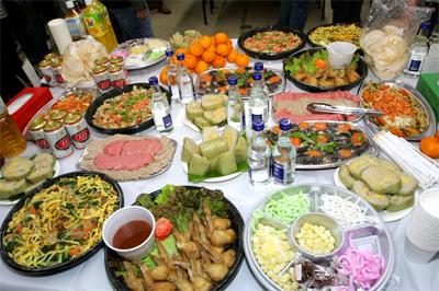 Tết Dương lịch- Bữa tiệc trọn vẹn ý nghĩa