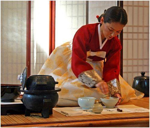 Tiệc trà Hàn Quốc